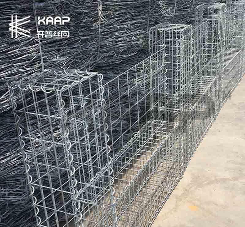 Gabion Basket (black PVC coated)