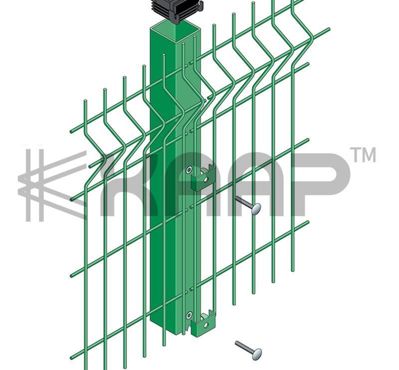 Bending Fence 3D Curved