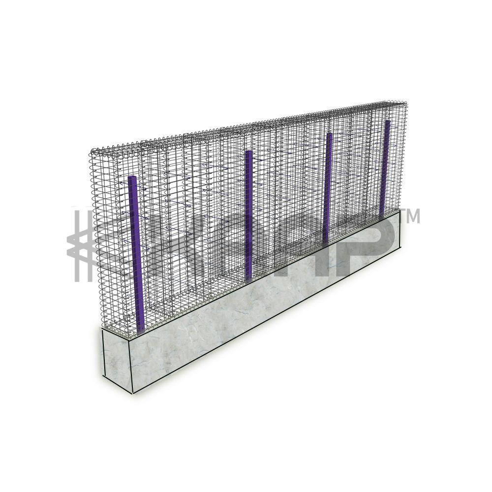 KAAPGN Galvanized Welded Gabion Basket