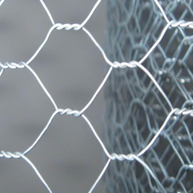 Hxagonal woven wire mesh roll