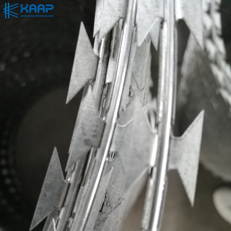 Flat Wrap Razor barbed wire