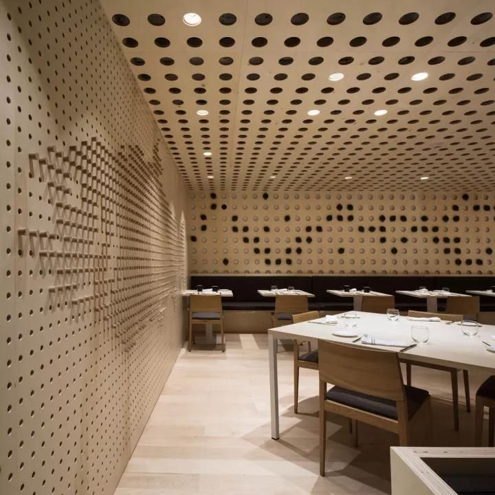 Perforated Plate,  Modernist Design