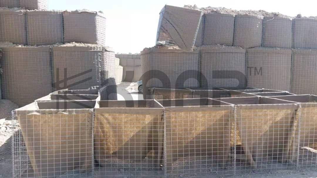 Gabion Defensive Barrier