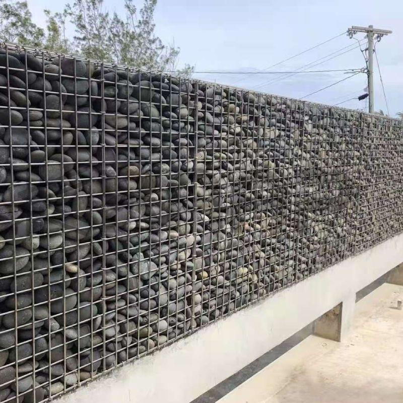 Park gabion decoration fence wall